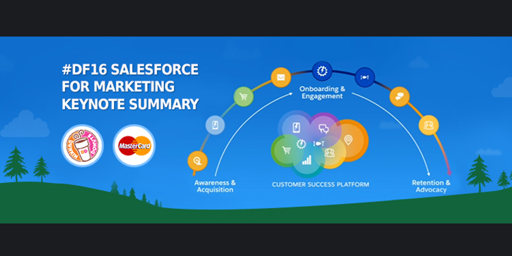 Key Highlights: Salesforce for Marketing Keynote at Dreamforce'16!!