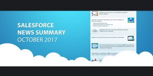 Salesforce News Summary October 2017 Thinqloud