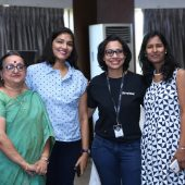 Debjani Banerjee - Manika Goyal - Jina Chetia - Shreyata Kachoriya - Women Tech Heroes by Thinqloud