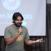 Kiran Manyala at Women Tech Heroes - Salesforce Thinqloud